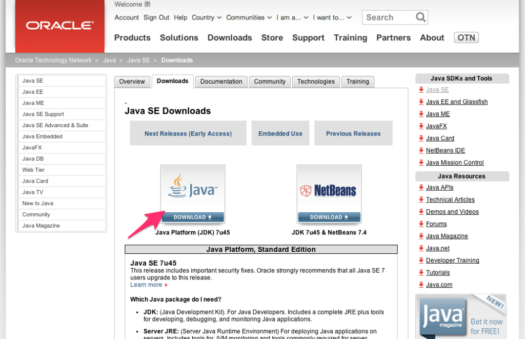 Java Se Downloads Oracle Technology Network Oracle | Autos Post