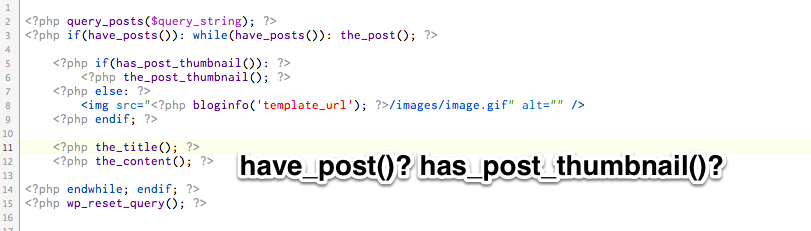 WordPressテンプレート関数の『have_●●』と『has_●●』の違い・・・