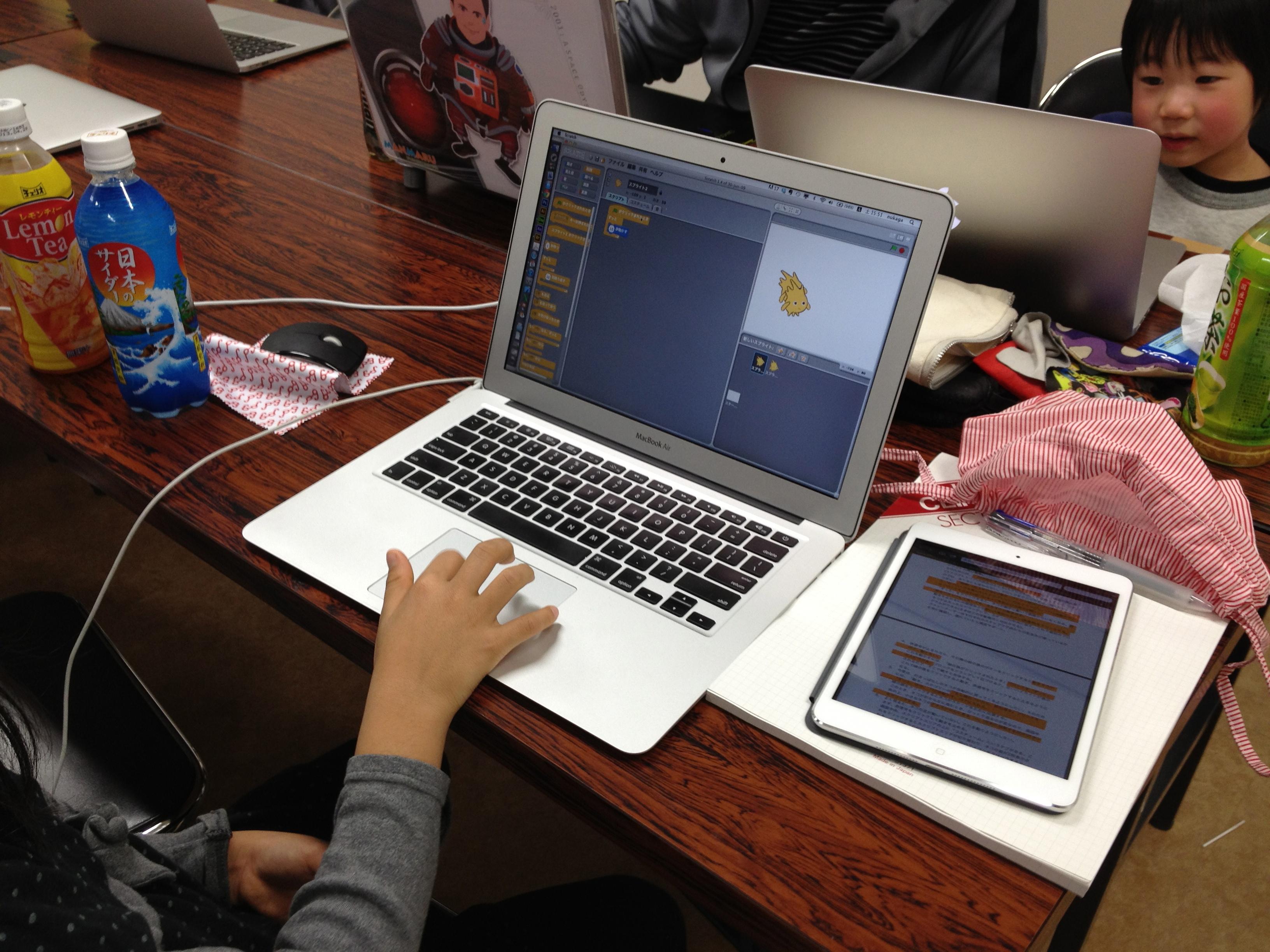 子ども向けプログラミング教室 CoderDojo西宮を開催しました
